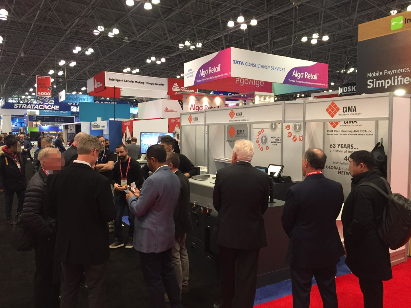 Some shots from NRF 2019 - CIMA